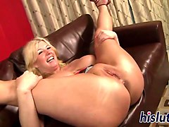 chubby blonde delivered an amazing titjob