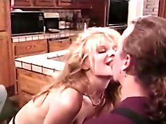 Tom Comes Home to Wet Pussy for Supper and Dumps a Cumload