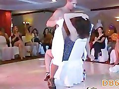 Dancers showing ladies swinging dick