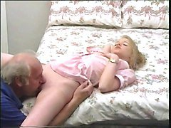 grandpa dick treatment for young blonde