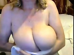 i watch my busty russian friend playing with her big boobs